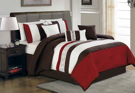 elegant bedroom design with twin size beds using brown upholstered leatherette redcliffe headboards shapes and thick stunning cool bedroom designs charming bedroom ideas red