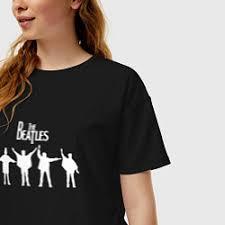 <b>Футболки</b> оверсайз The Beatles от 1390 руб, купить в интернет ...