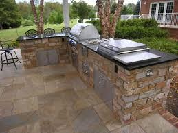 Countertop For Outdoor Kitchen Exteriors Modern Outdoor Kitchen Design With Antique Modern