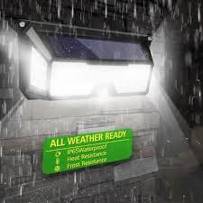 <b>136LED Solar</b> PIR Motion Sensor Light Waterproof <b>Outdoor</b> Garden ...