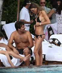 Claudia Galanti Bikini Pussy Lip Slip Candids On A Beach In Miami. Here is Claudia Galanti pussy lip slipping while humping her hubby on a beach in Miami. Apparently a thong bikini can be too small. Enjoy