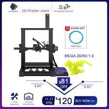 <b>ANYCUBIC Mega Zero</b> DIY 3D Printer Desktop 3d Color Printing ...