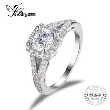 <b>JewelryPalace</b> Romantic Engagement Wedding Ring Pure 925 ...
