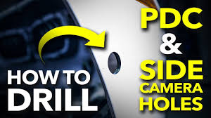 How to Drill <b>Parking Sensor</b> (<b>PDC</b>) and Side Camera <b>Holes</b> in an ...