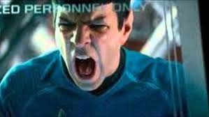 Image result for star trek into darkness angry spock