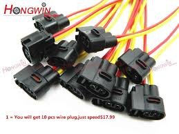 10pcs wire <b>plug ignition coil</b> for coil Renault 8200765882 Megane ...
