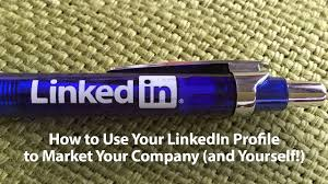 use your linkedin profile to market your company templates