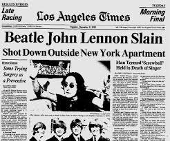 「1980, John Winston Ono Lennon, MBE funeral」の画像検索結果