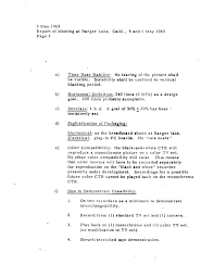 cartrivision documents page 2 of memo