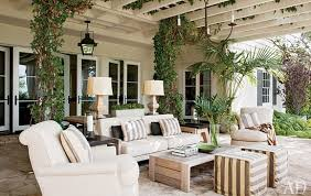 dreamy outdoor room from ad black and white outdoor furniture