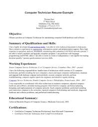examples entry level resumes resume template for example examples entry level resumes cover letter technician resume sample diesel cover letter computer technician resume example