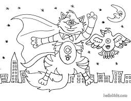 Small Picture Cyclop cat alien coloring pages Hellokidscom