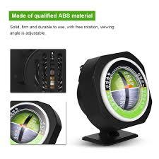 <b>Outdoor Luminous</b> LED Car Inclinometer Angle Slope Meter ...
