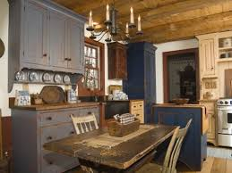 picture primitive kitchen