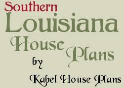 Southern Louisiana House Plans   house plans Kabel House Plans    louisiana house plans kabel logo