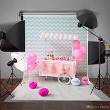 <b>Laeacco</b> Indoor <b>Cute Pink Balloons</b> Table Cabinet Baby ...