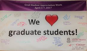 the graduate school university of south carolina grad student appreciation week