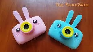 Детский цифровой <b>фотоаппарат</b> Zoo <b>Kids Camera мишка</b> зайчик ...