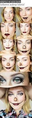 best ideas about simple halloween costumes simple scarecrow makeup for halloween