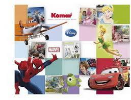 <b>Фотообои</b> бумажные Komar <b>Fairies Forest</b> 4-416 3,68x1,27 м в ...