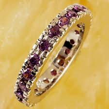 lingmei Wholesale Lady Round Hoop Purple Green <b>Red Zircon</b> ...