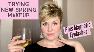 Trying <b>New Spring</b> Makeup + <b>Magnetic</b> Lashes. With a Sauvignon ...