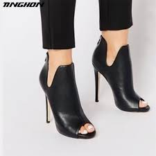 <b>TINGHON Summer</b> Fashion Sexy <b>Women</b> Roman fish mouth high ...
