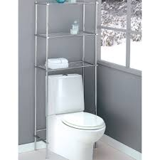 storage toilet cabinet space saver white