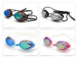 New Swim Glasses for Men Adjustable <b>Electroplating Waterproof</b> ...