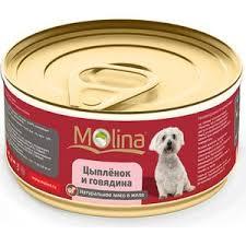 Купить <b>Консервы Molina Натурально мясо</b> в желе цыпленок и ...
