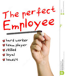 the perfect employee stock image image  the perfect employee