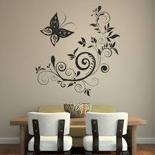 white designs art decorations decorationsinteresting pretty white paper flowers art black plain wall