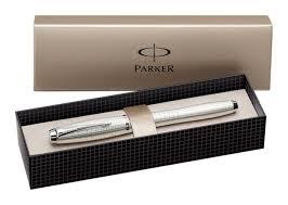 <b>Ручка перьевая Parker</b> Urban Premium Pearl Metal Chiselled ...