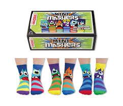 United Oddsocks Mini-Mashers <b>Childrens</b> Socks [<b>3 Pairs</b>] | Shoes ...