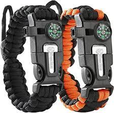Atomic Bear Paracord Bracelet (2 Pack) - Adjustable ... - Amazon.com
