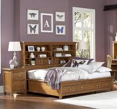cute bedroom wall decor idea feat terrific platform bed frame storage for apartment plus headboard bookshelf apartment storage furniture