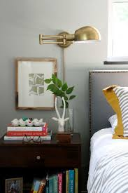 bedroom lighting design brass wall sconces bedside wall lighting
