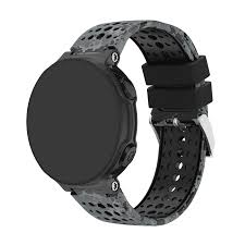 <b>Silicone Replacement Smart Watch</b> Band for Garmin Fenix 5S Black