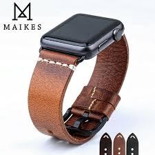 Kaufen <b>MAIKES</b> Neue Design Uhr Zubehör Armband Für Apple ...