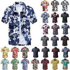 <b>Men's Hawaiian</b> Short Sleeve Casual <b>Shirts</b> for sale | eBay