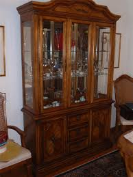 Stanley Furniture Dining Room Terrific Stanley Chinese Cabinet And Hutch With Three Glass Door