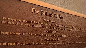 「the Bill of Rights amended to the federal Constitution.」の画像検索結果