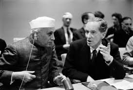 not at the cost of and the united nations security prime minister of jawarhalal nehru at the united nations headquarters on 21 1956 source united nations photo 85575