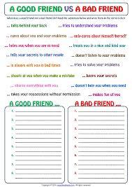 qualities of a good friend essayessay on good friend good friend bad friend essay   tgvclub pl make money online