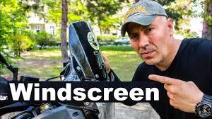<b>Motorcycle Windscreen</b>/<b>Windshield</b> – Do You Need it? - YouTube