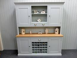 Small Picture Painted 6 Kitchen Dresser With Wine Rack Solid Wood Painted