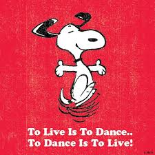 Image result for quotes peanuts dance