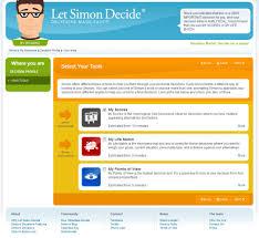 c1 explore majors quizzes and assessments exploratory student let simon decide jpg