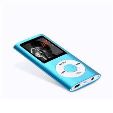 <b>New Slim</b> 4TH 1.8 LCD MP4 <b>Player</b> FM Video 4TH Gen <b>MP3</b> MP4 ...