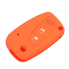 jingyuqin <b>3 buttons Silicone car</b> key case cover For FIAT /Panda ...